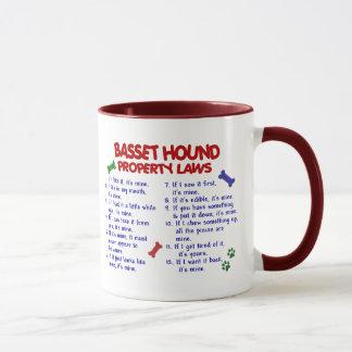 BASSET HOUND Property Laws 2 Mug
