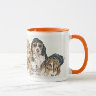 Basset Hound Puppies Mug