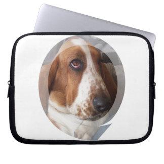 Basset Hound Puppy Electronics Bag Laptop Sleeves