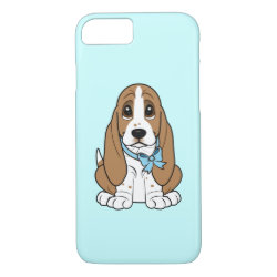 Case-Mate Barely There iPhone 7 Case with Basset Hound Phone Cases design