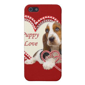 basset Hound Puppy Love I Phone Case
