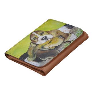 Basset Hound Pups Wallets