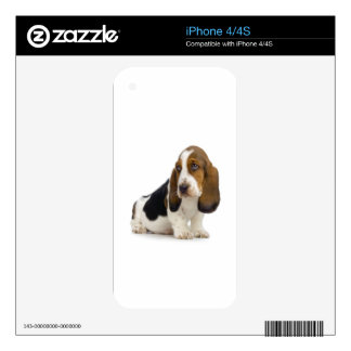 Basset Hound Skin For iPhone 4S