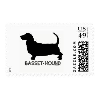 Basset Hound Stamp