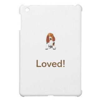 Basset Hound Tri-Colored iPad Mini Cases