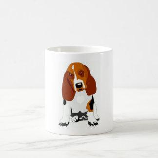 Basset Hound Tri-Colored Mug