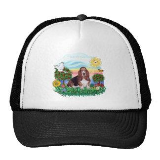 Basset Hound Trucker Hat