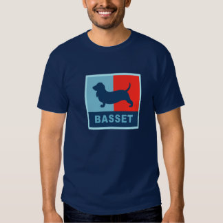 Basset Hound US style T-shirt