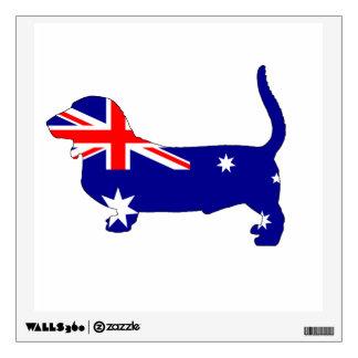Basset Hound Wall Sticker