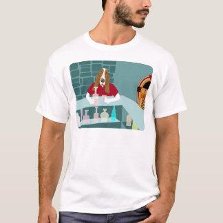 Basset Hound Whiskey Bar T-Shirt