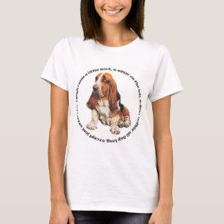 Basset Hound Wishing Ditty T-Shirt