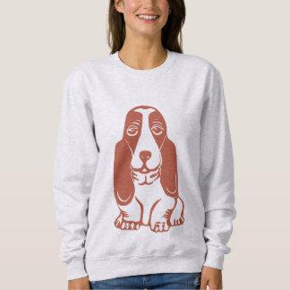 Basset Hound Women's Sweatshirt