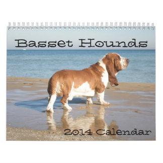 Basset Hounds 2012 Calendar