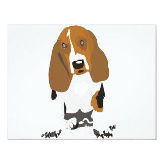 Basset Hound's Card