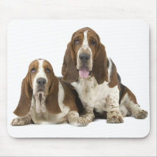 Basset Hounds Mouse Pad