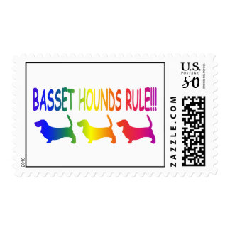 Basset Hounds Rule Postage