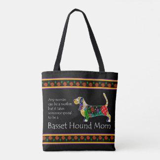 Basset Mom Tote