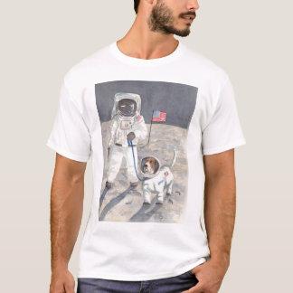 Basset Moon Walk T-Shirt