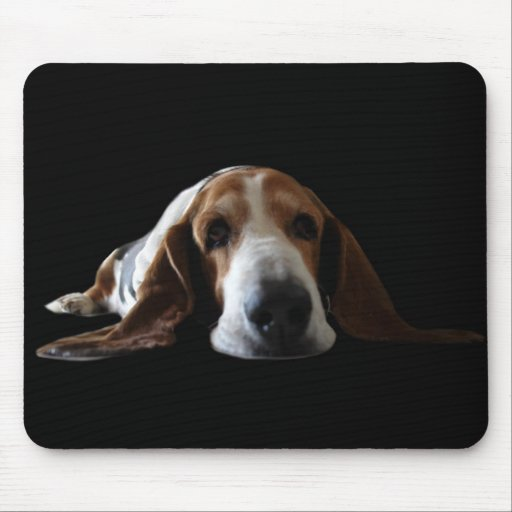 Basset Mouse Pad