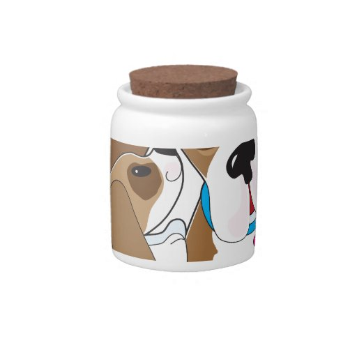 Basset Talk Mom Candy Jar