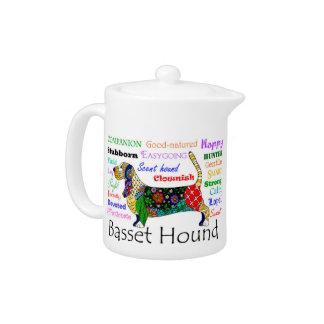 Basset Traits Teapot