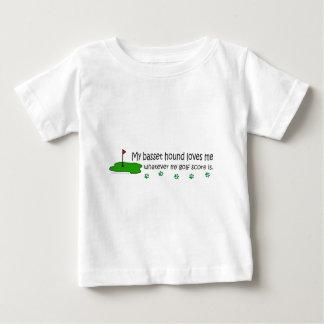 BassetHound Baby T-Shirt