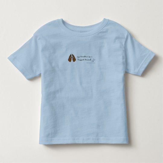 BassetHoundBrother Toddler T-shirt