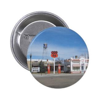 Bassett de la gasolinera, Nebraska, los E.E.U.U. Pins