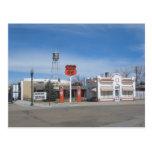 Bassett de la gasolinera, Nebraska, los E.E.U.U. Tarjetas Postales