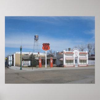 Bassett de la gasolinera, poster de Nebraska, los
