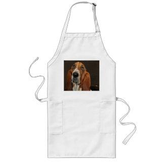 bassett hound 2 long apron