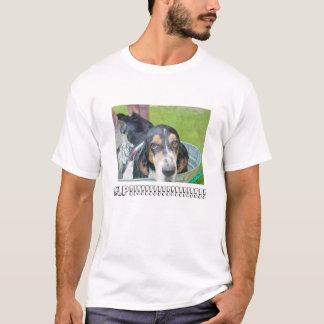 Bassett Hound Bath T-Shirt