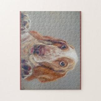 Bassett hound jigsaw puzzle