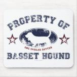 Bassett Hound Mousepads