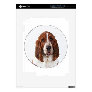 """Bassett Hound"" Decal For iPad 2"