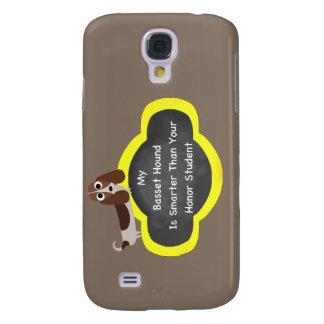 Bassett Hound Smarter Galaxy S4 Case