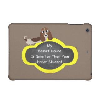 Bassett Hound Smarter iPad Mini Covers