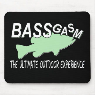 BASSgasm... THE ULTIMATE OUTDOOR EXPERIENCE Mouse Pads