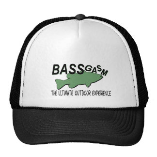 BASSgasm... THE ULTIMATE OUTDOOR EXPERIENCE Trucker Hat