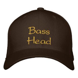 BassHead Embroidered Baseball Hat