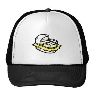 bassinet trucker hat