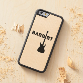 Bassist Carved Maple iPhone 6 Bumper Case