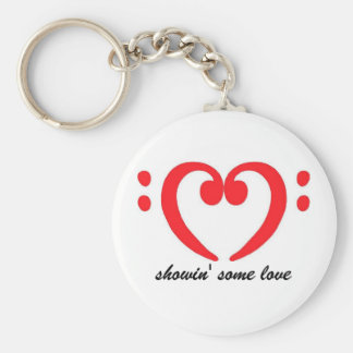 bassist love keychain