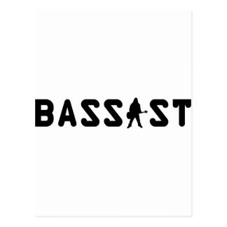 bassist postcard