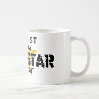 Bassist Rock Star by Night Coffee Mug