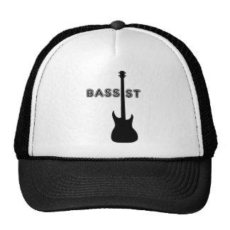Bassist Silhouette Trucker Hat