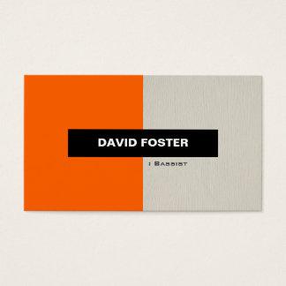 Bassist - Simple Elegant Stylish Business Card