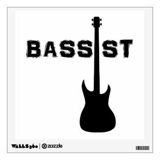 Bassist Wall Sticker