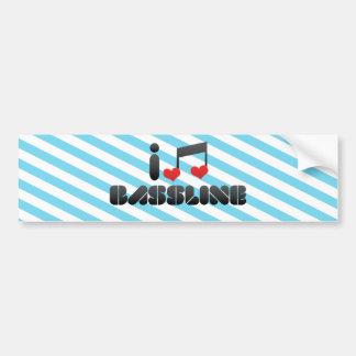 Bassline Etiqueta De Parachoque