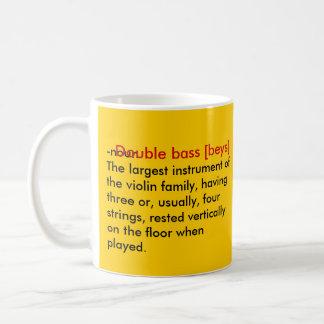basslove classic white coffee mug